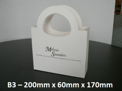 B3 - Cardboard Gift Bag - 200mm x 60mm x 170mm