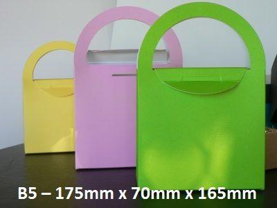 B5 - Cardboard Gift Bag - 175mm x 70mm 165mm