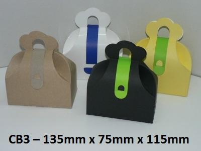 CB3 - Carry Box - 135mm x 75mm x 115mm