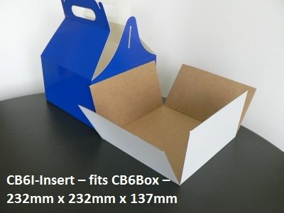 CB61 - Insert for Carry Bag - 232mm x 232mm x 137mm