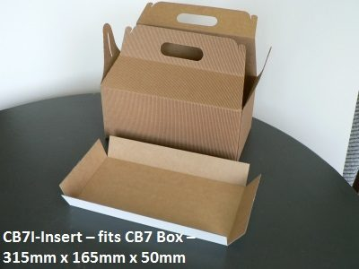 CB71 - Insert for Carry Bag - 315mm x 165mm x 50mm