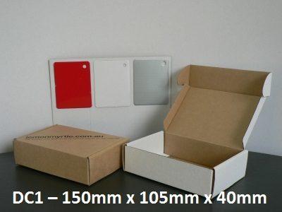 DC1 - Die-Cut Carton - 150mm x 105mm x 40mm