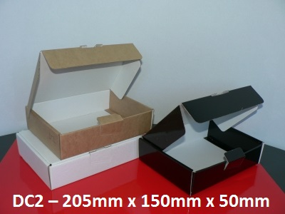DC2 - Die-Cut Carton - 205mm x 150mm x 50mm