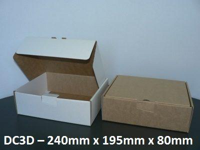 DC3D - Die-Cut Carton - 240mm x 195mm x 80mm