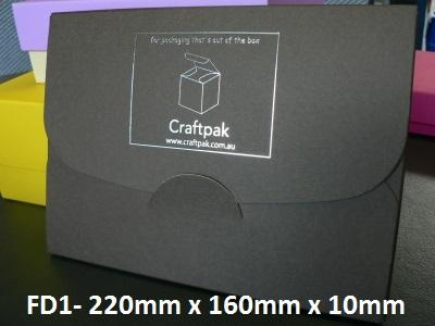 FD1 - Cardboard Folder - 220mm x 160mm x 10mm