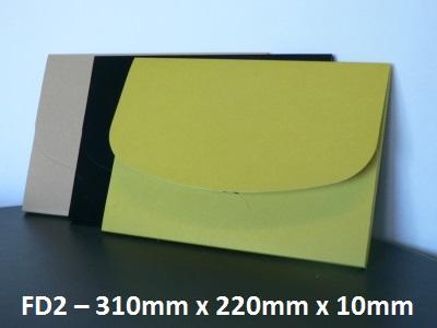 FD2 - Cardboard Folder - 310mm x 220mm x 10mm