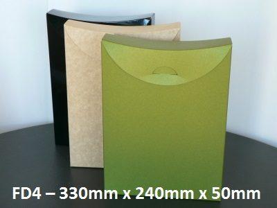 FD4 - Cardboard Folder - 330mm x 240mm x 50mm
