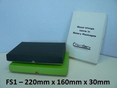 FS1 - Flat Box with Lid - 220mm x 160mm x 30mm
