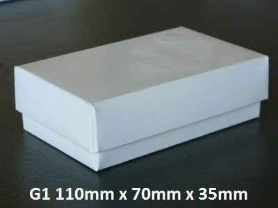 G1 - Box with Lid - 110mm x 70mm x 35mm