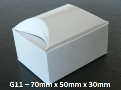 G11 - Small Box with Domed Lid - 70mm x 50mm x 30mm