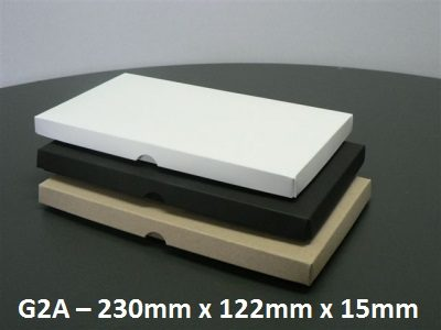 G2A - Box with Lid - 230mm x 122mm x 15mm