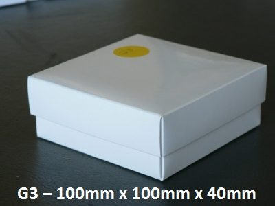 G3 - Box with Lid - 100mm x 100mm x 40mm