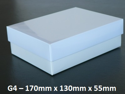 G4 - Box with Lid - 170mm x 130mm x 55mm