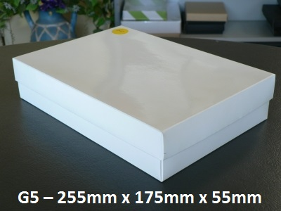 G5 - Box with Lid - 255mm x 175mm x 55mm
