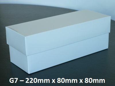 G7 - Box with Lid - 220mm x 80mm x 80mm
