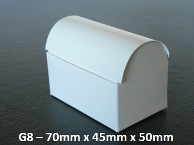 G8 - Small Treasure Chest - 70mm x 45mm x 50mm