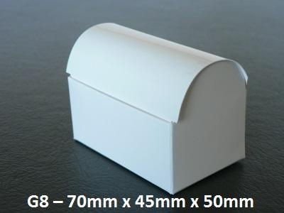 G8 - Small Treasure Chest - 70mm x 45mm x 50mm