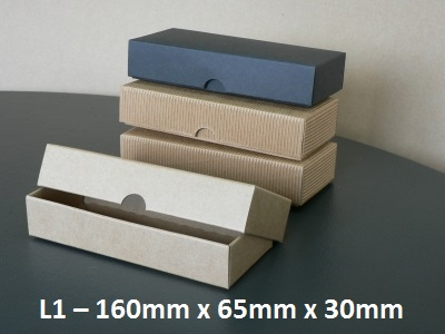 L1 - Long Box with Lid - 160mm x 65mm x 30mm