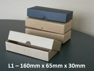 L1 - Long Box with Lid - 160mm x 65mm x 30mm