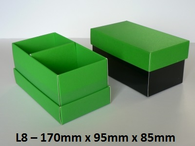 L8 - Long Box with Lid - 170mm x 95mm x 85mm