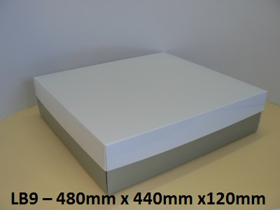 LB9 - Large Box with Lid - 480mm x 440mm x 120mm