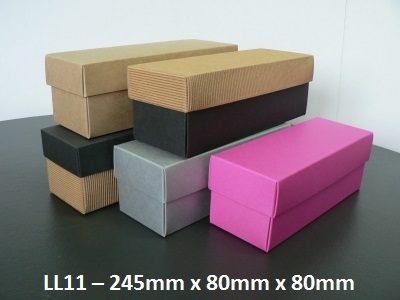 LL11 - Long Box with Lid - 245mm x 80mm x 80mm
