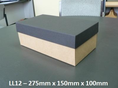 LL12 - Long Box with Lid - 275mm x 150mm x 100mm