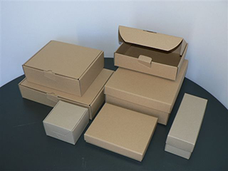 Recycled Range of Boxes