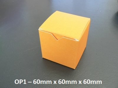 OP1 - One Piece Box - 60mm x 60mm x 60mm
