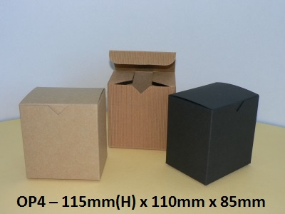 OP4 - One Piece Box - 115mm x 110mm x 85mm