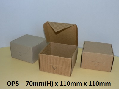OP5 - One Piece Box - 70mm x 110mm x 110mm