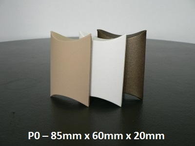 P0 - Pillow Box - 85mm x 60mm x 20mm