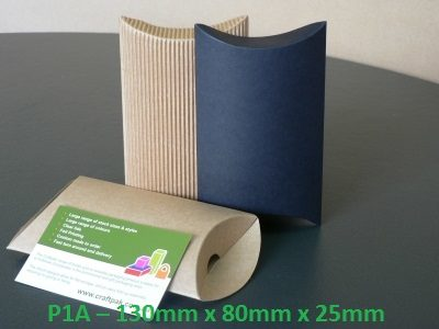 P1A - Pillow Box - 130mm x 80mm x 25mm
