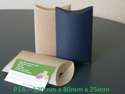 P1A - Pillow Box - 130mm x 80mm x 25mm