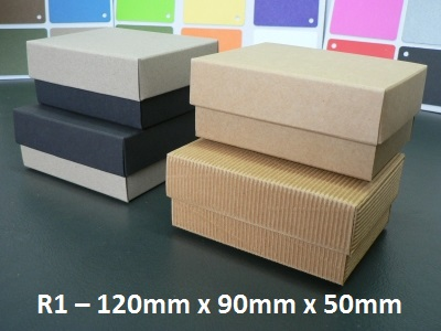 R1 - Rectangle Box with Lid - 120mm x 90mm x 50mm