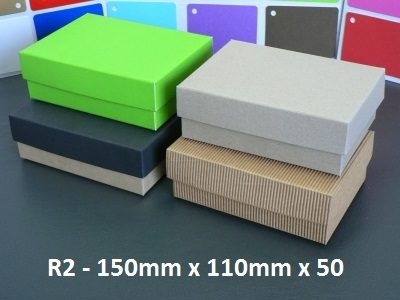 R2 - Rectangle Box with Lid - 150mm x 110mm x 50mm