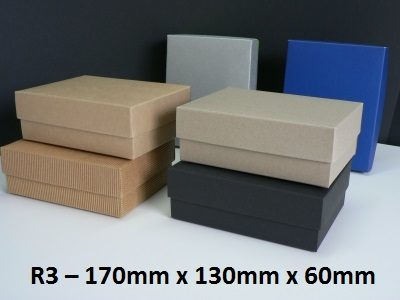 R3 - Rectangle Box with Lid - 170mm x 130mm x 60mm