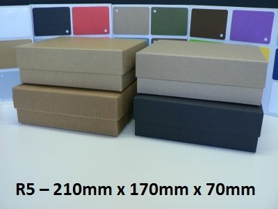 R5 - Rectangle Box with Lid - 210mm x 170mm x 70mm