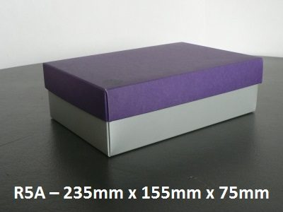 R5A - Rectangle Box with Lid - 235mm x 155mm x 75mm