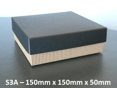 S3A - Square Box with Lid - 150mm x 150mm x 50mm