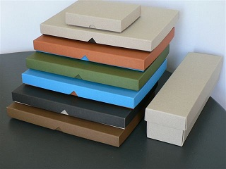 Recycled Colour Range of Boxes