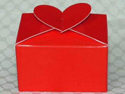 CB0 - Carry Box - 80mm x 60mm x 50mm - Red Gloss