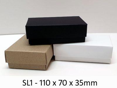 SL1 - Base & Lid - 110mm x 70mm x 35mm(h)