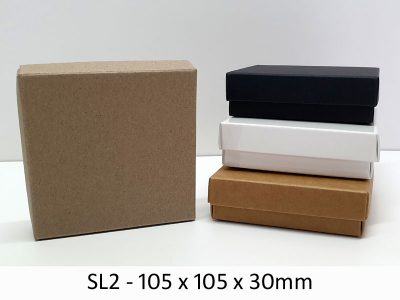 SL2 - Base & Lid - 105mm x 105mm x 30mm(h)