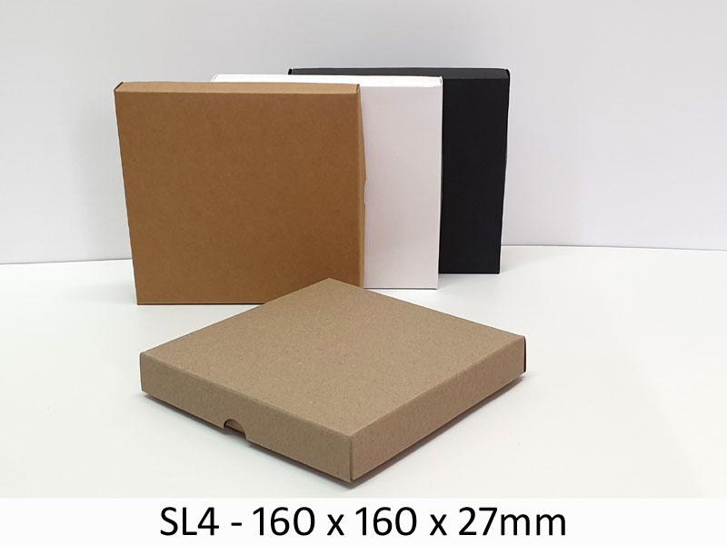SL4 - Base & Lid - 160mm x 160mm x 27mm(h)