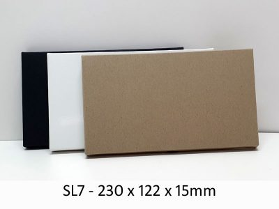 SL7 - Base & Lid - 230mm x 122mm x 15mm(h)