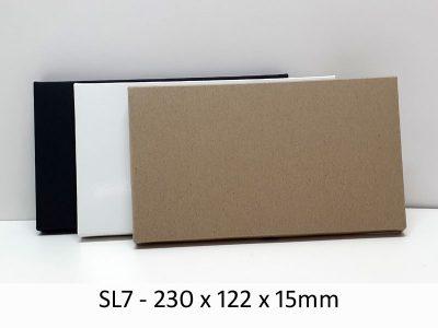 SL7 - Base & Lid - 230mm x 122mm x 15mm(h)