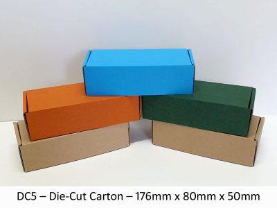 DC5 – Die-Cut Carton – 176mm x 80mm x 50mm