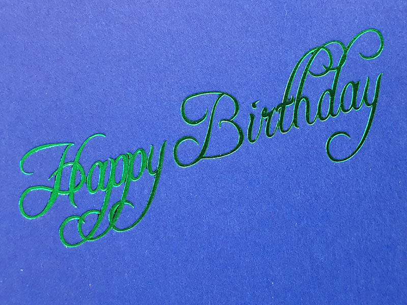 Metallic Green Foil - 70045